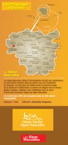 Carte viaduc Saint Georges le Gaultier